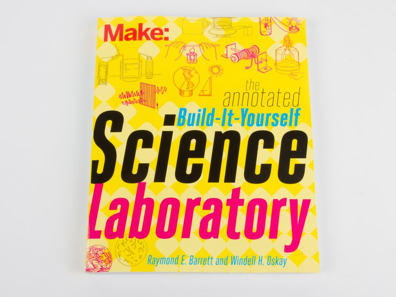 Build it Yourself Science Laboratory, Front Cover