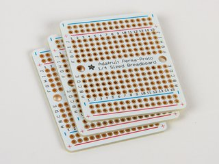 Perma-Proto quarter-sized Breadboard PCB