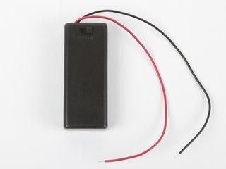 2 x AAA Battery Holder