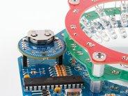 4-pin Header Sockets with Chronodot installed
