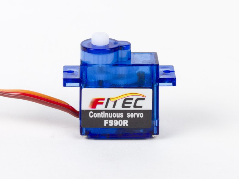 Continous rotation micro servo motor