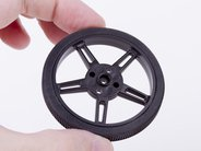 60 mm wheel with silicone tread