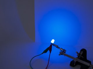 Blue 10 mm Diffused LED