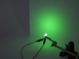 Green 10 mm Diffused LED