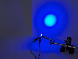 Blue 3 mm Diffused LED