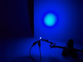 Blue 3 mm Diffused LED