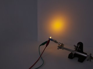 Yellow 3 mm Diffused LED