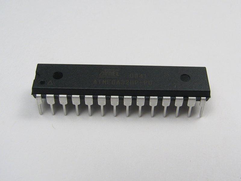 An example AVR microcontroller