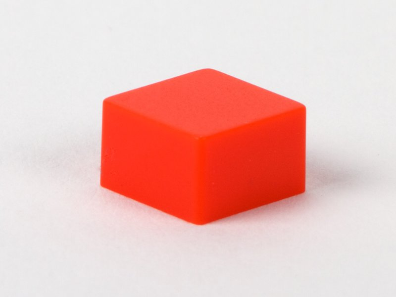Square Switch Cap Square Red Button Switch Cap