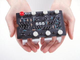 The Three Fives Kit: A Discrete 555 Timer