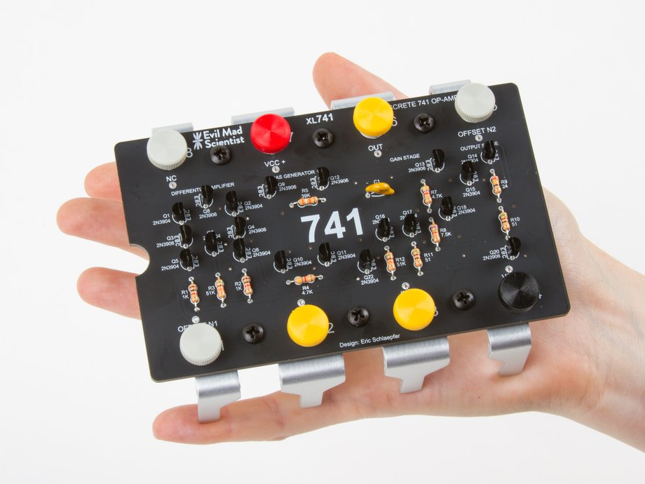 Xl741 discrete op amp kit for Home 741 741