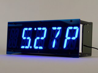 Alpha Clock Five, Blue Edition