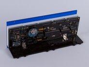 Alpha Clock Five Blue circuitry