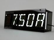 Alpha Clock Five White