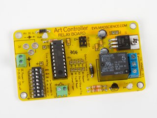 The Art Controller Relay Board Kit