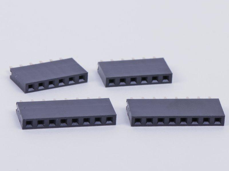 Header Sockets, 6- and 8-pin