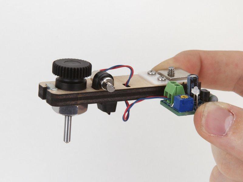 Diamond Engraver accessory for EggBot