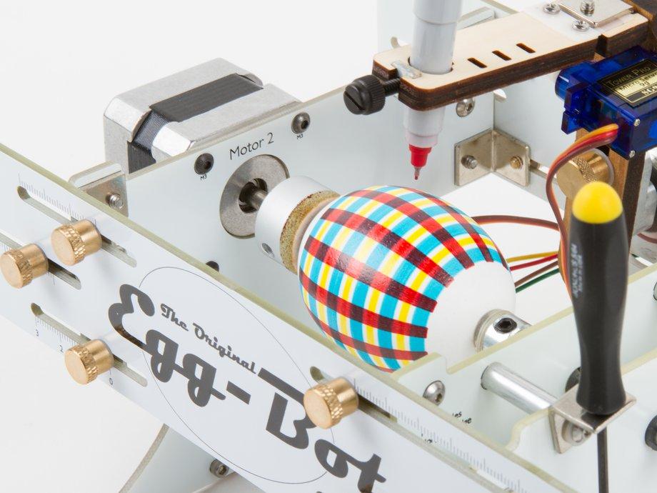 Egg stamping machine