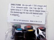Edible Egg Dye Set