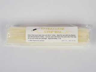 Strip wax for Electro-Kistka (clear)