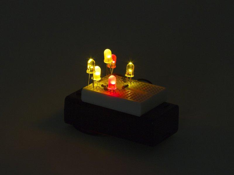 Solderless Flickery Flame Kit