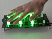 Octolively, with ultrabright green LEDs