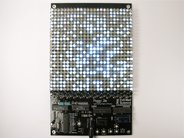 Assembled with white LEDs