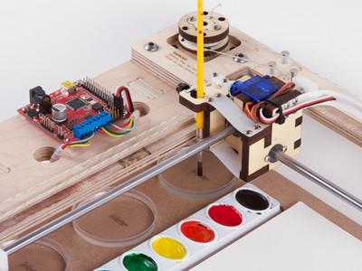 WaterColorBot - 3D printer list