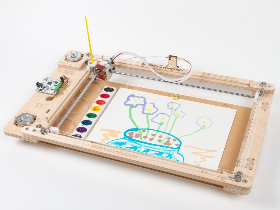 WaterColorBot 2.0 by Evil Mad Scientist Laboratories