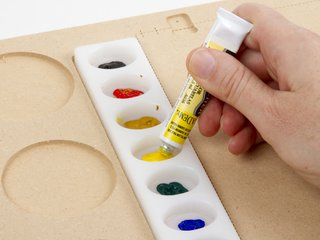 Reusable Watercolor Palette