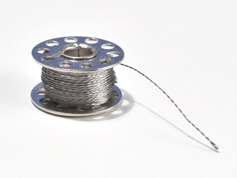 Spool of Stainless 2 Ply Conductive Thread