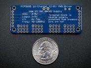 Adafruit 16-Channel 12-bit PWM/Servo Driver - I2C interface - PCA9685