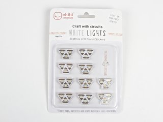White LED Circuit Stickers