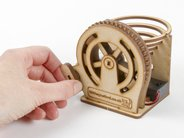 Marble Machine can be cranked by hand as well