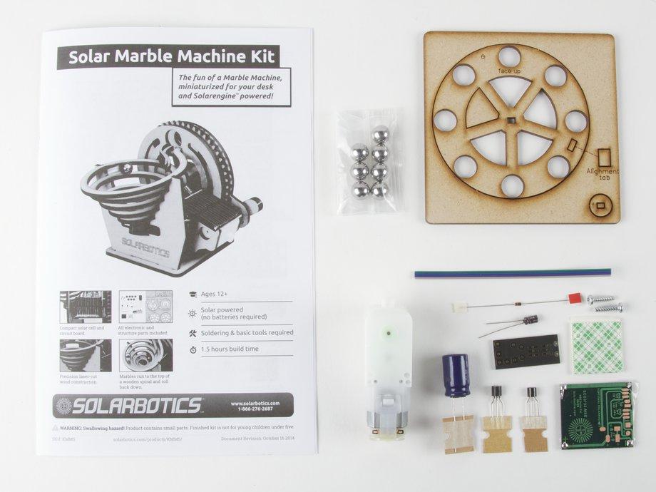 solarbotics marble machine