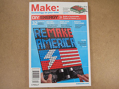 Peggy on Make Cover