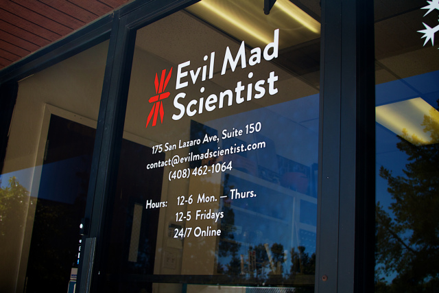 Evil Mad Scientist Door