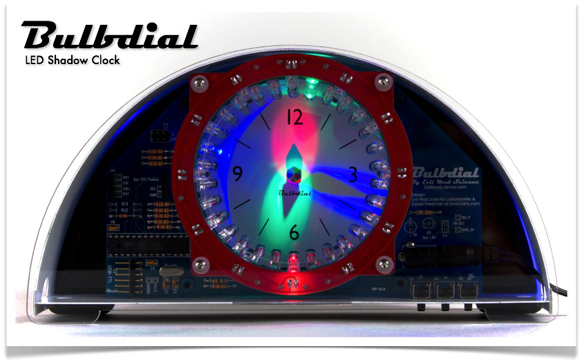The Bulbdial Clock Kit